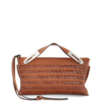 LOEWE Missy Woven Small Bag 棕色 front