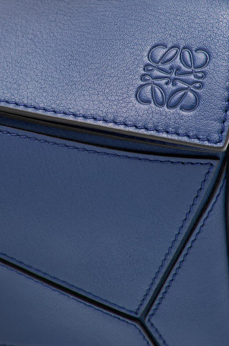 LOEWE Small Puzzle bag in classic calfskin Ocean pdp_rd