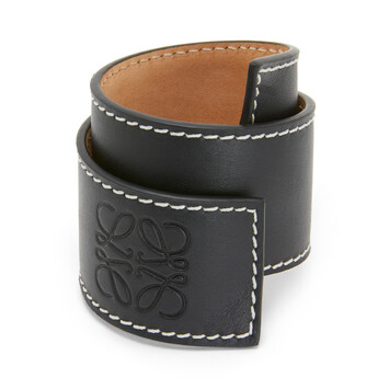 LOEWE Small Slap Bracelet 黑色 front