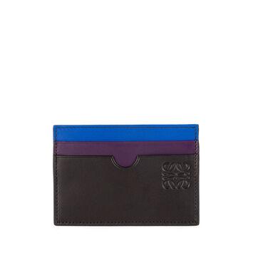 LOEWE Rainbow Plain Card Holder Multicolor front
