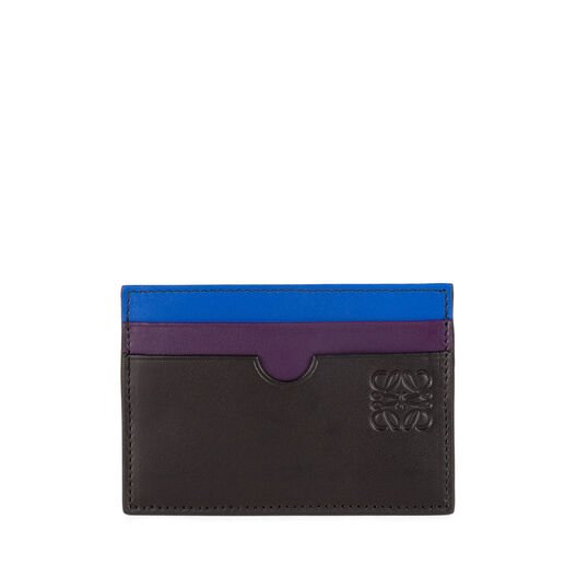 LOEWE Rainbow Plain Card Holder マルチカラー front