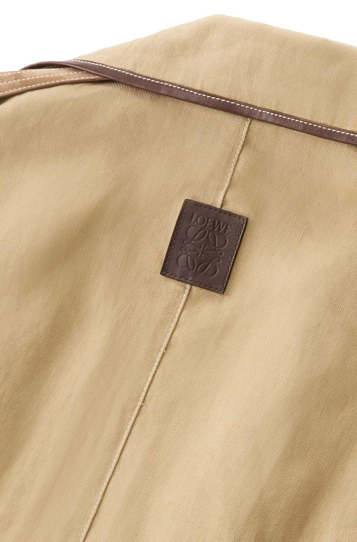 LOEWE Patch Pocket Trench Coat Oro all
