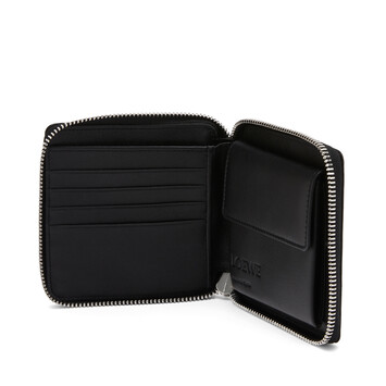 LOEWE Patch Square Zip Wallet 中粉紅 front