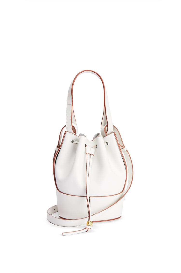 LOEWE Small Balloon bag in nappa calfskin Soft White pdp_rd
