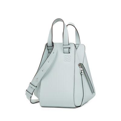 LOEWE Hammock Small Bag Aqua front