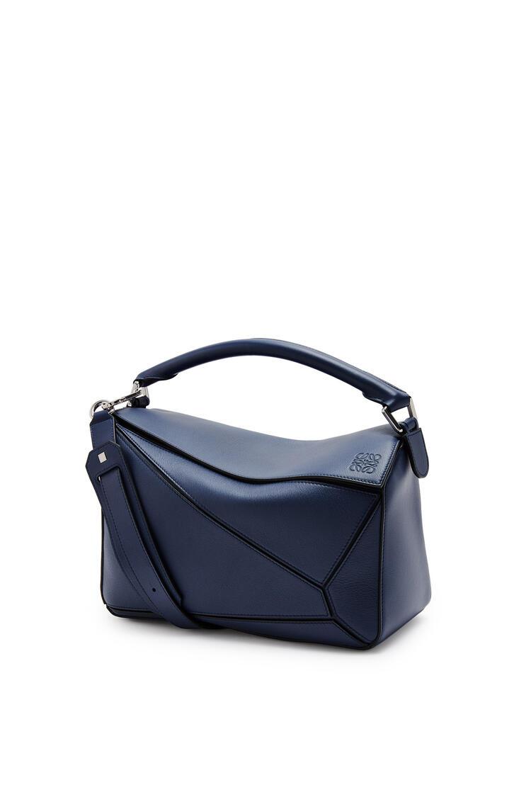 LOEWE Puzzle bag in classic calfskin Ocean pdp_rd