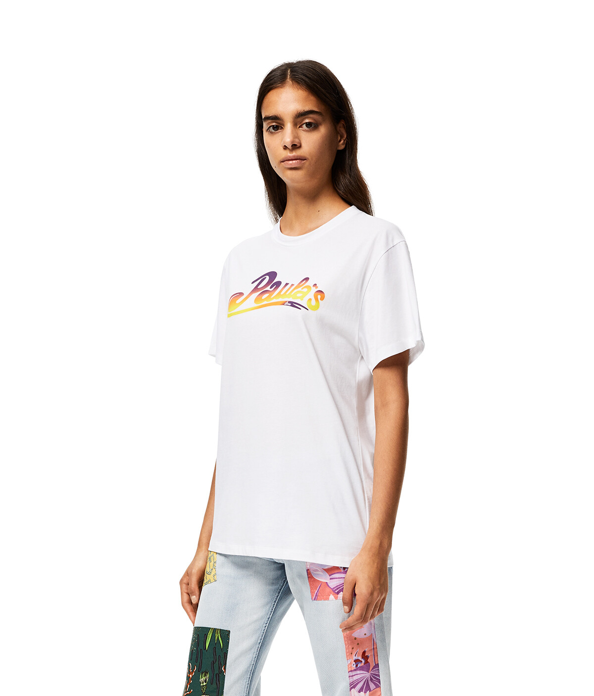 LOEWE T-Shirt In Cotton White front