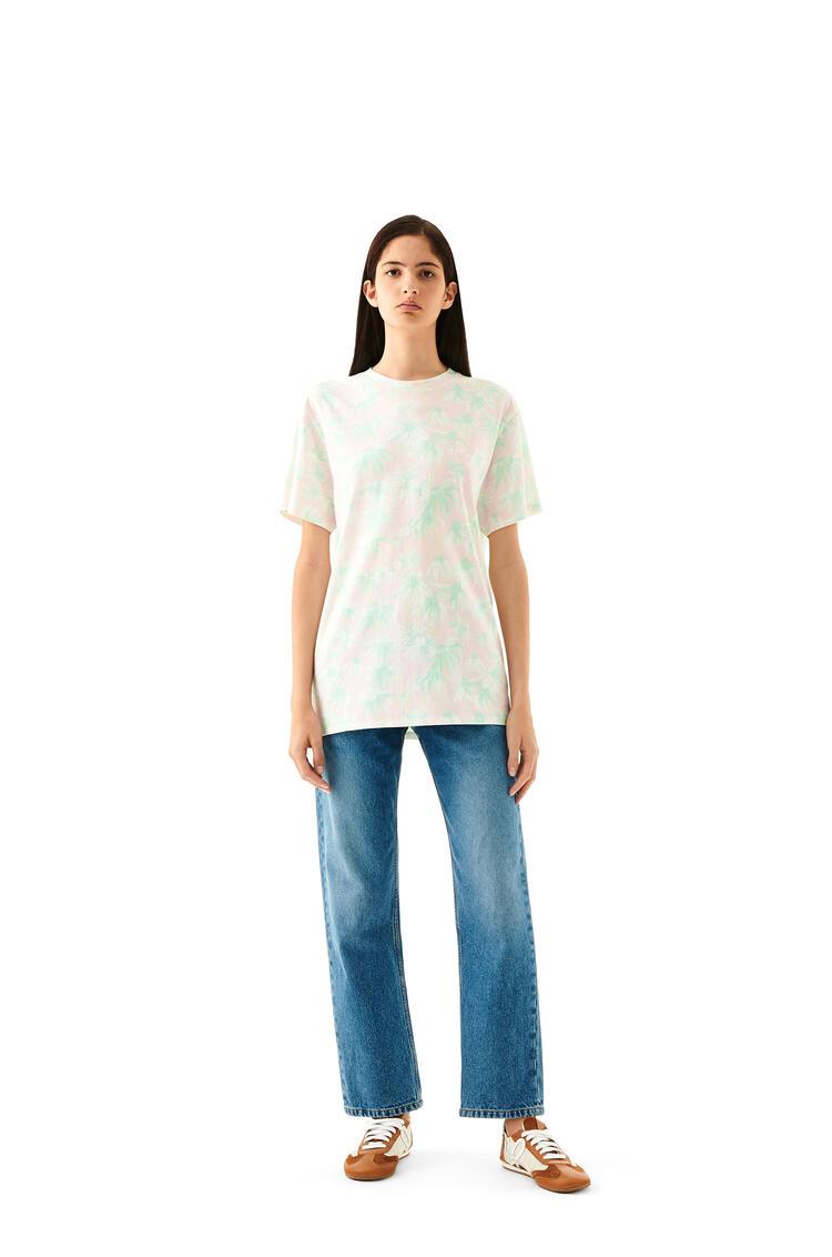 LOEWE デイジー プリント Tシャツ(コットン) Pink/Light Green pdp_rd