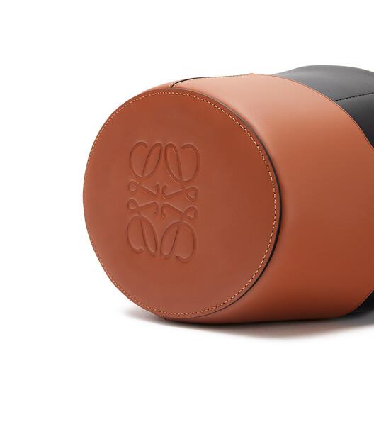 LOEWE Bolso Balloon Negro/Bronceado front