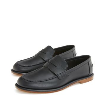 LOEWE Soft Loafer 黑色 front