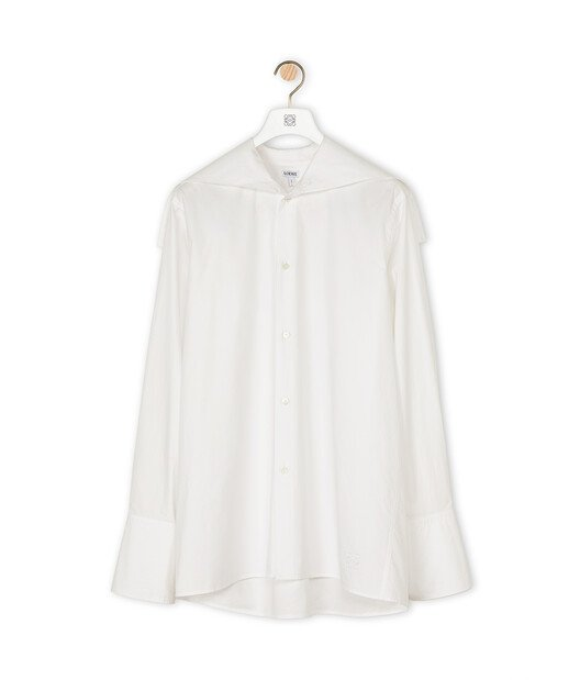 LOEWE Big Collar Shirt Blanco front