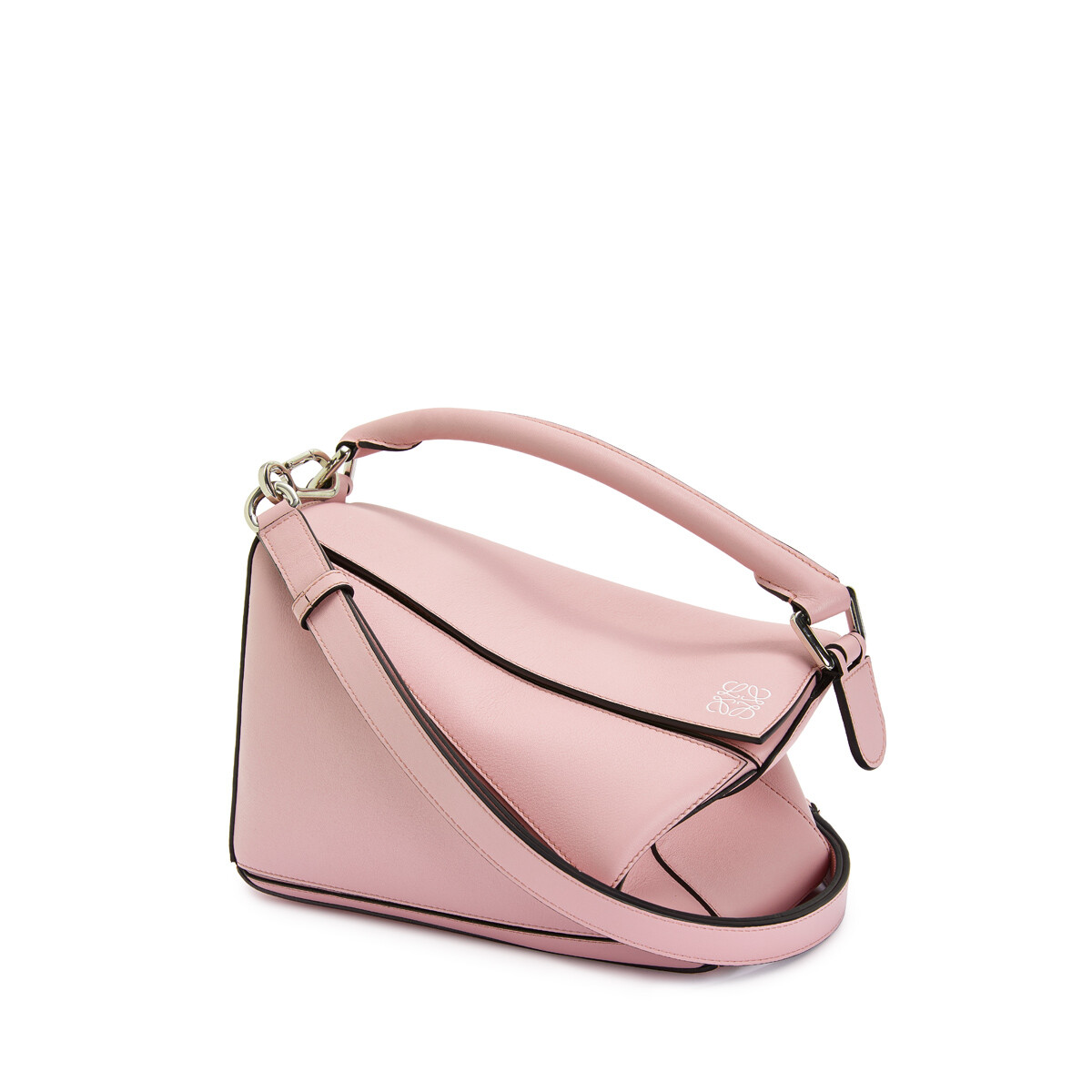 LOEWE Puzzle Small Bag Pastel Pink front