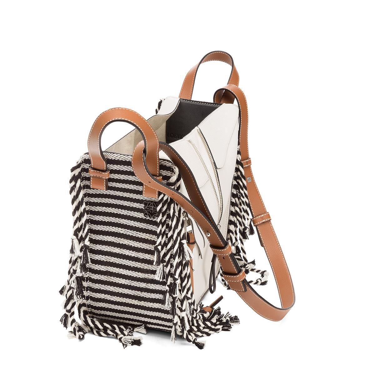 small Hammock scarf bag - White Loewe fVc8I