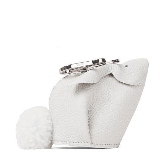 LOEWE Charm Conejo Blanco front