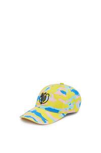 LOEWE Cap in canvas Multicolor pdp_rd