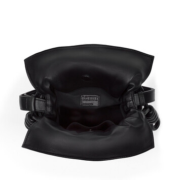 14982ed1ad1 LOEWE Flamenco Knot Small Bag Black front