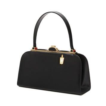 LOEWE Lantern Bag Black front
