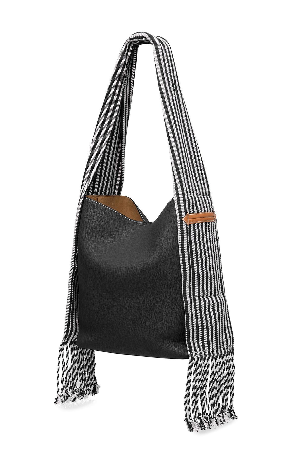 scarf bucket bag - Black Loewe hYoEvz5