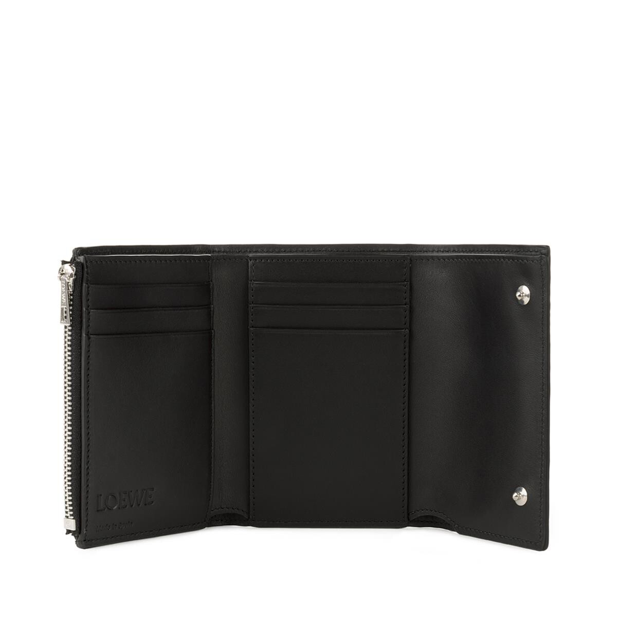LOEWE Small Vertical Wallet 黑色 front