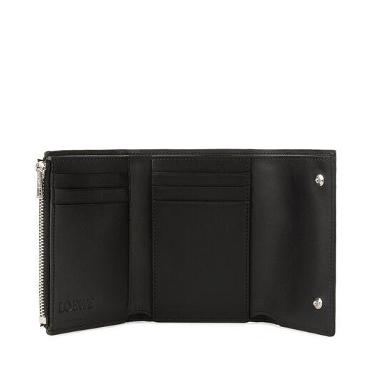 LOEWE Small Vertical Wallet Black all