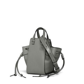 LOEWE Hammock Dw Mini Bag Gunmetal front