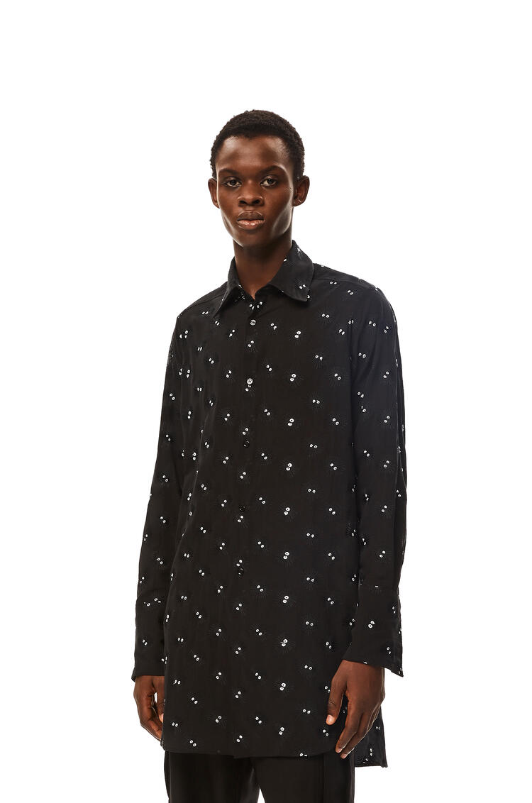 LOEWE Dust Bunnies oversized shirt in cotton Black pdp_rd