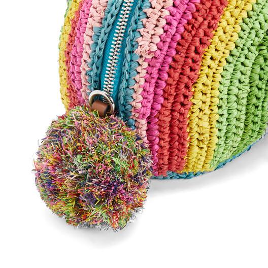 LOEWE Paula's Bunny Rainbow Mini Bag Multicolor front