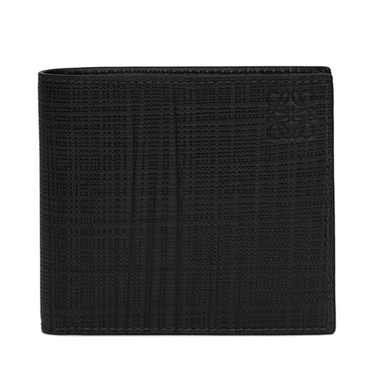 LOEWE Bifold/Coin Wallet Black front