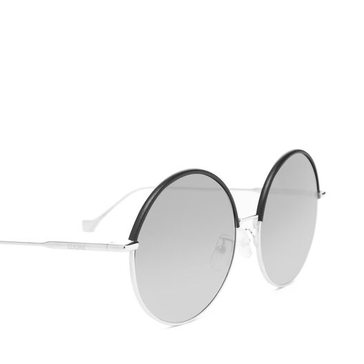 LOEWE Round Sunglasses Black/Gradient Smoke all