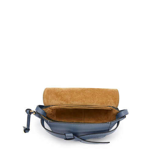 LOEWE Gate Mini Bag Steel Blue front