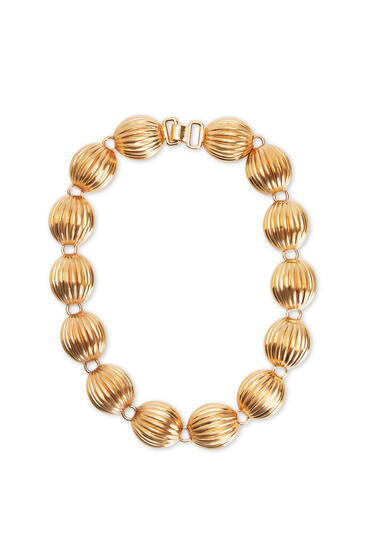 LOEWE Nutshell necklace Gold pdp_rd