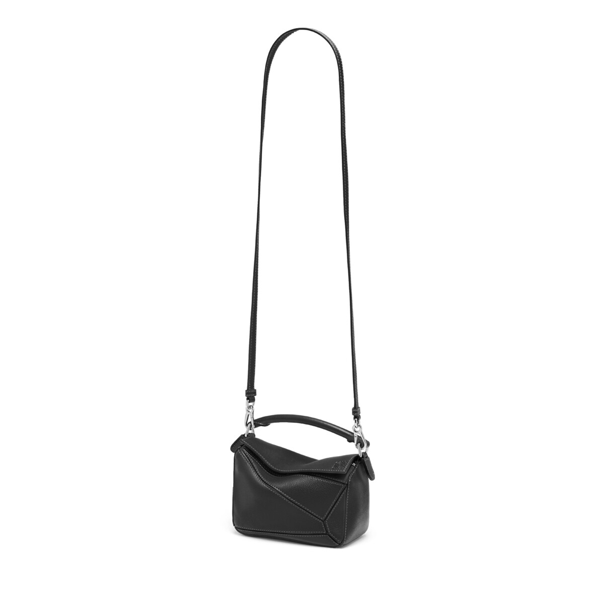 LOEWE Puzzle Mini Bag Negro front