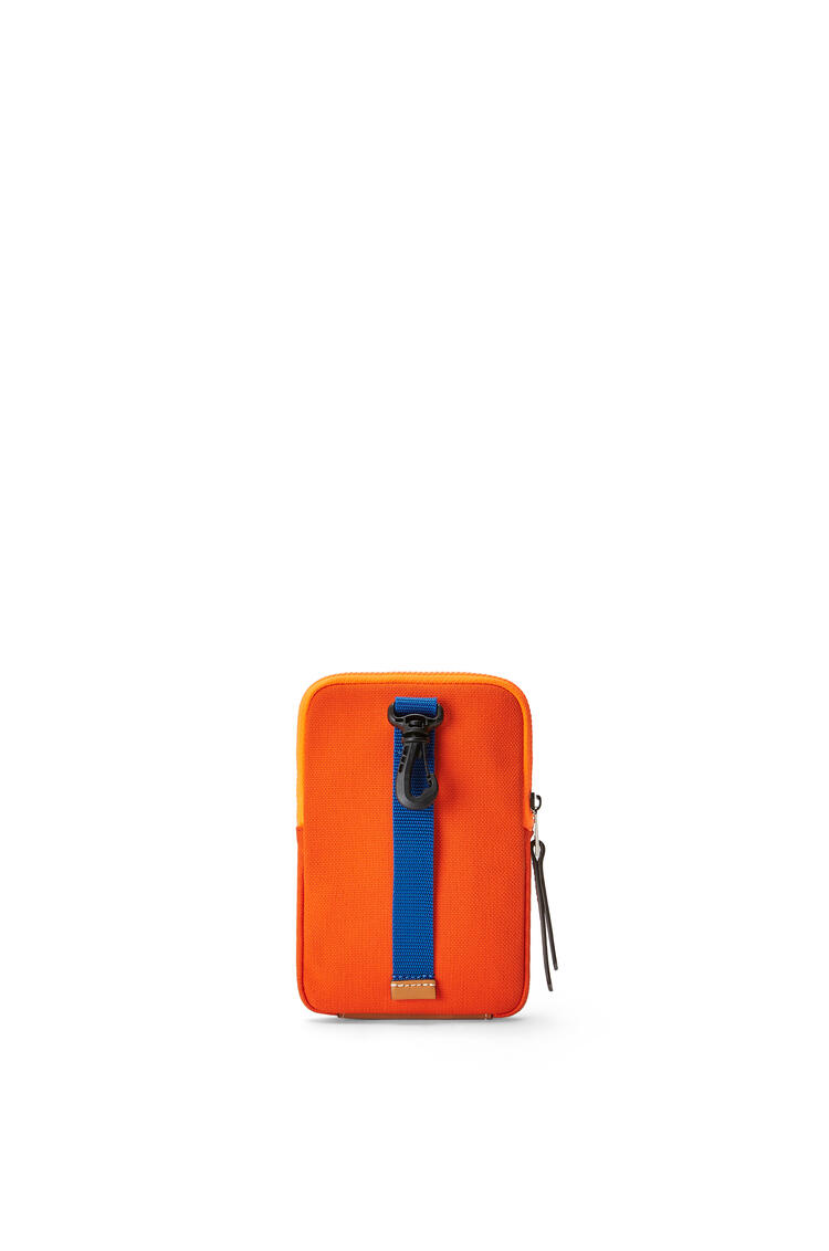 LOEWE Eye/LOEWE/Nature Case in canvas Orange pdp_rd