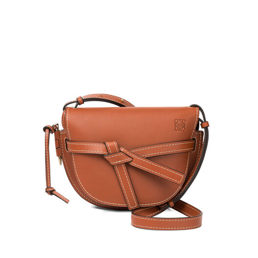 LOEWE Gate Small Bag Rust Color all