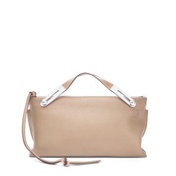 LOEWE Missy Small Bag Light Oat  front