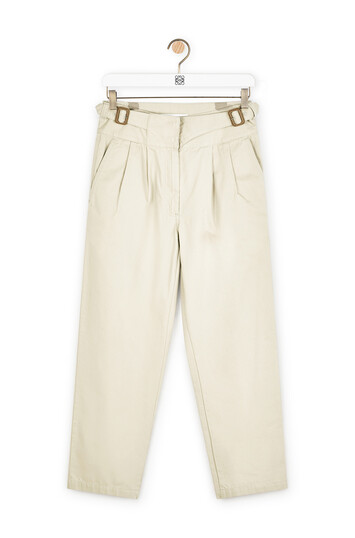 LOEWE Chino Trousers Beige front