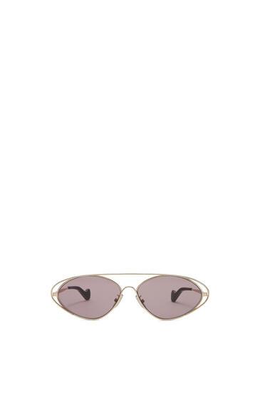 LOEWE Gafas de sol ovaladas Rosa Antique pdp_rd