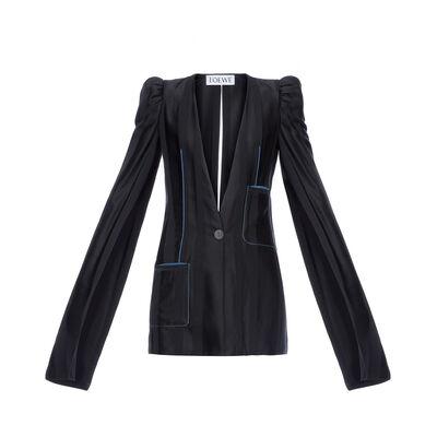 LOEWE Long Sleeve 1Bt Jacket Black front