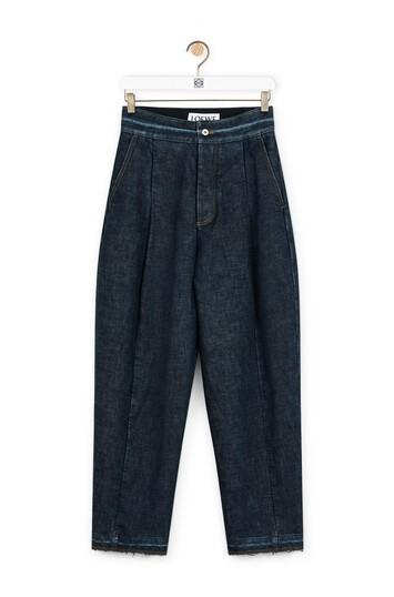 LOEWE Carrot Jeans Azul Denim Medio front