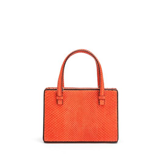 LOEWE Postal Small Bag Vermillion front