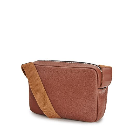LOEWE Bolso Military Messenger Xs Coñac front