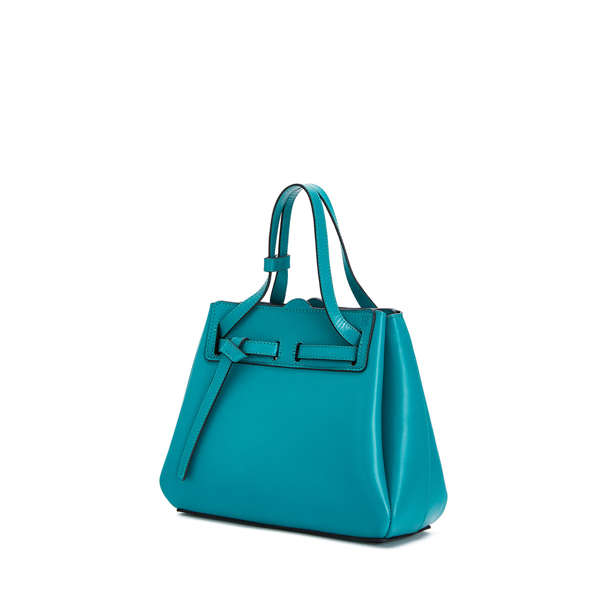 LOEWE Lazo Mini Bag emerald green front