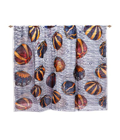 LOEWE 140X200 Scarf Urchins Multicolor front