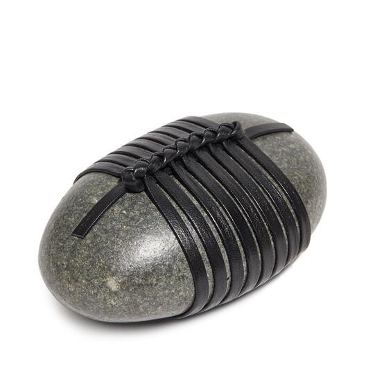 LOEWE Se Knot Stone Black front