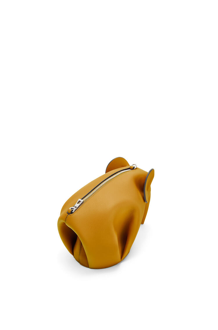 LOEWE Mini Elephant bag in classic calfskin Narcisus Yellow/Pecan pdp_rd