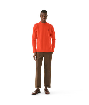 LOEWE Anagram Sweater Red front
