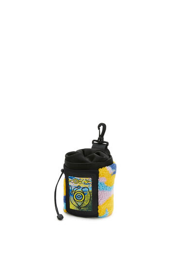 LOEWE Chalk Bag In Camo Fleece And Canvas Multicolor pdp_rd
