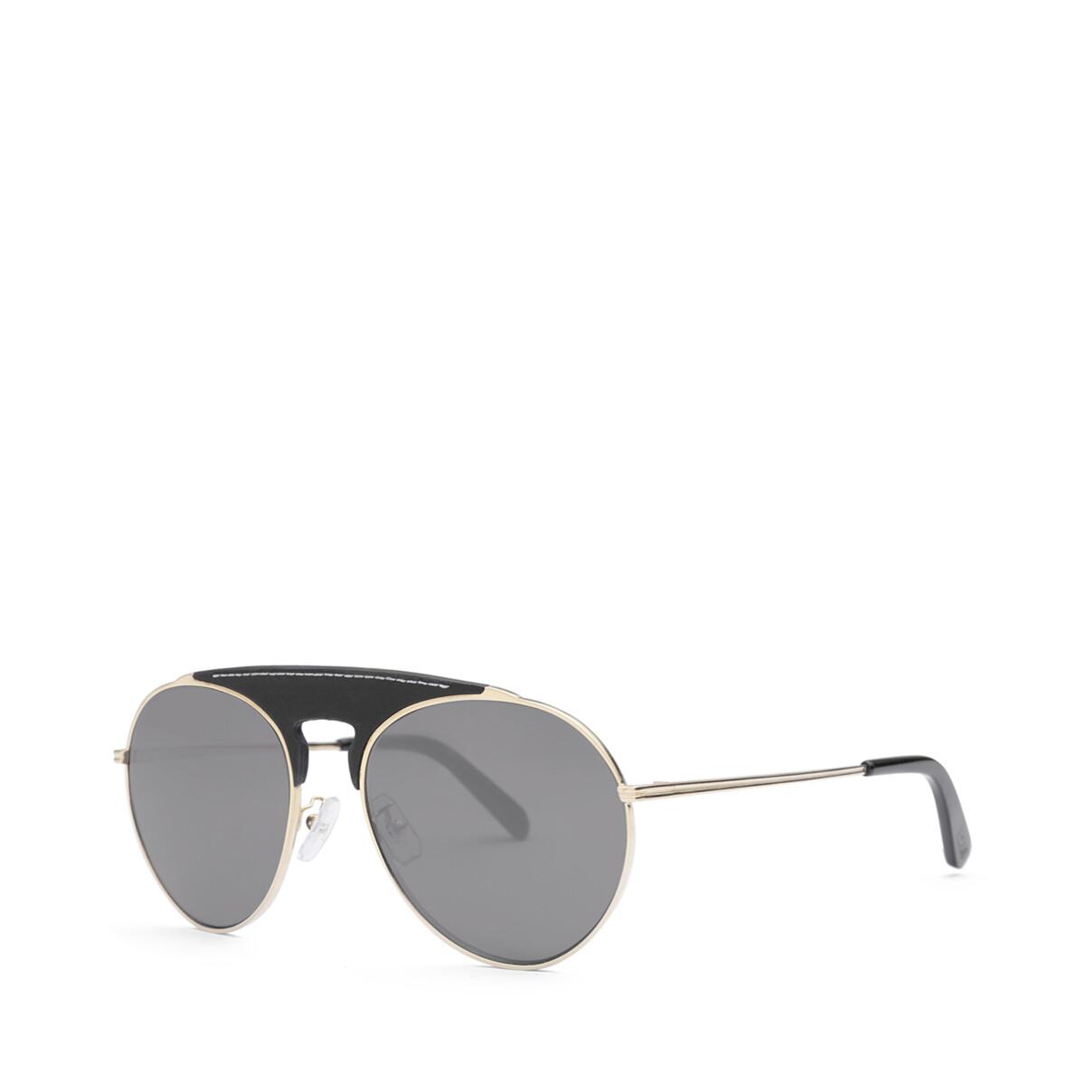 LOEWE Pilot Sunglasses Black/Smoke front