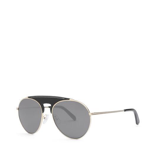 LOEWE Pilot Sunglasses Black/Smoke all