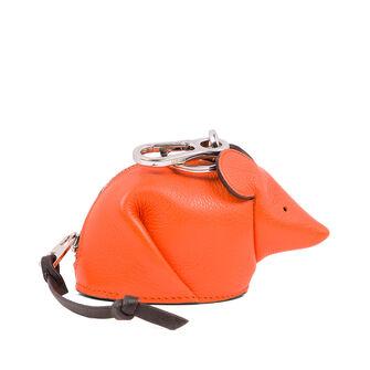 LOEWE Mouse Charm Orange front